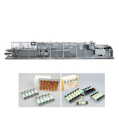 Oral liquid(Ampoule)special blister packaging Machine And cartoning Machine automatic production line