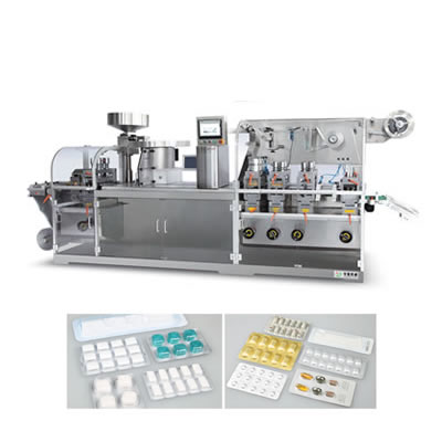 Cantilever style Flat-plate Blister Packing Machine