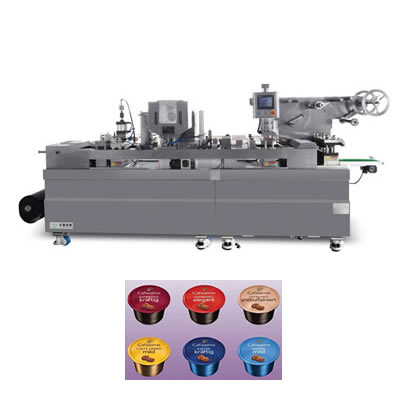 Automatic coffee capsule packing machine