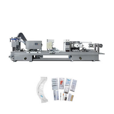 Flat-plate Soft(Hard)Plastic Blister Packing Machine