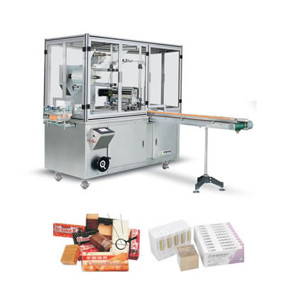 Cellophane paper(film)Box-type Tridimensional Packing Machine